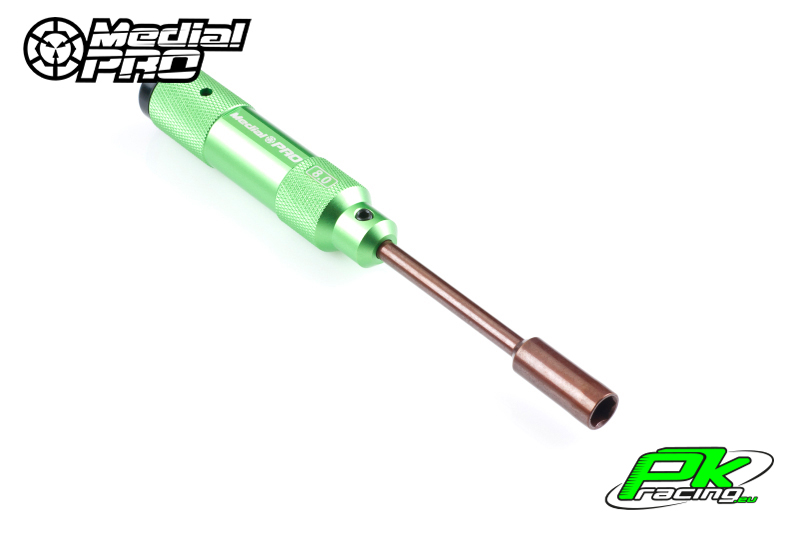 Medial Pro - MPT-06180 - XP Tools - Hardened Tip - Alu Grip - Nut 8.0mm
