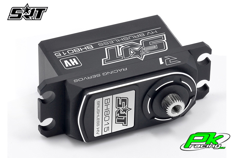 SRT - Servo BH8015 - Digital - Low Profile - Brushless - HV - Titanium/Alu Gears - 15kg/0.05sec@8.4V - Full Alloy Case