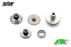 SRT - Servo Gear Set - BH9012 - Titanium / Alu