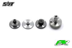 SRT - Servo Gear Set - BH9032 - Titanium / Steel