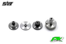 SRT - Servo Gear Set - BH9037 - Titanium / Steel