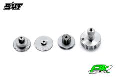 SRT - Servo Gear Set - CH6020 - Titanium / Alu