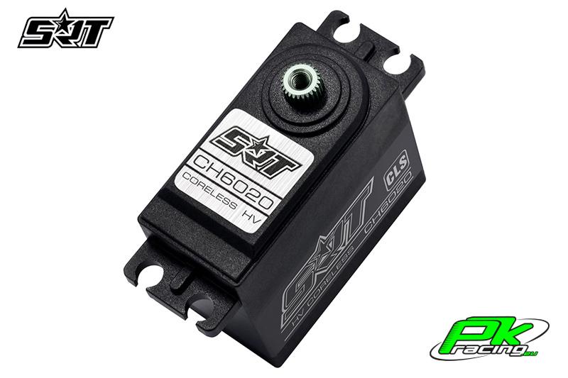 SRT - Servo CH6020 - Digital - Coreless - HV - Titanium/Alu Gears - 20kg/0.09sec@8.4V - Plastic/Alloy Case