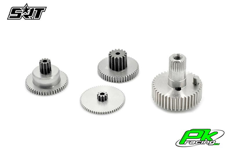 SRT - Servo Gear Set - CH6035 - Titanium / Alu