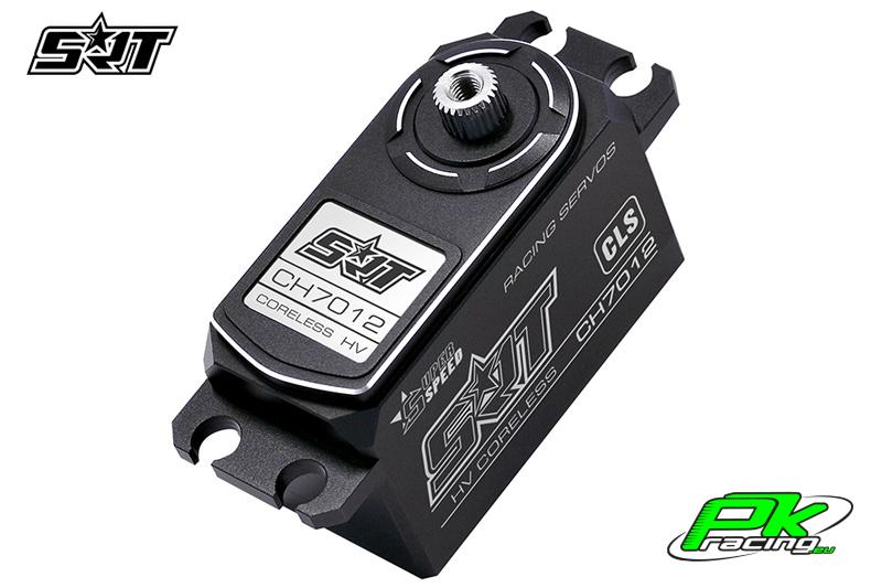 SRT - Servo CH7012 - Digital - Low Profile - Coreless - HV - Titanium/Alu Gears - 12kg/0.057sec@8.4V - Full Alloy Case