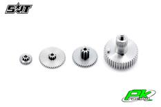 SRT - Servo Gear Set - CH7015 - Titanium / Alu