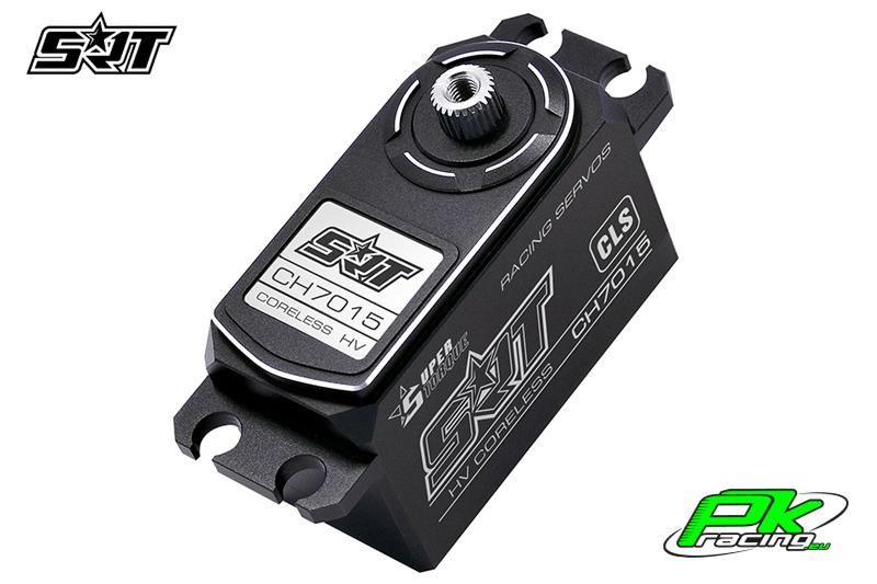 SRT - Servo CH7015 - Digital - Low Profile - Coreless - HV - Titanium/Alu Gears - 15kg/0.07sec@8.4V - Full Alloy Case