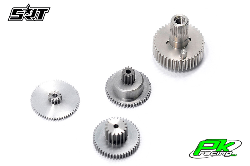 SRT - Servo Gear Set - CL6023 - Titanium / Steel