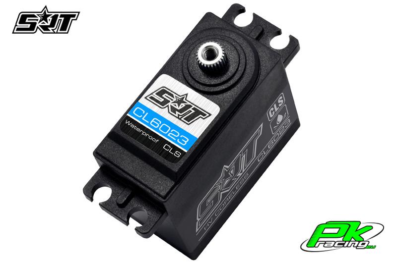 SRT - Servo CL6023 - Digital - Coreless - LV - Titanium/Steel Gears - 23kg/0.12sec@6.0V - Waterproof  - Plastic/Alloy Case