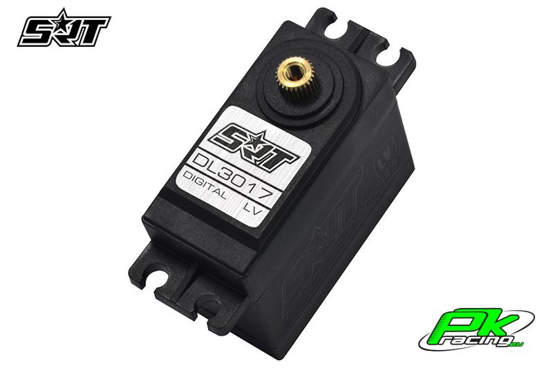 SRT - Servo DL3017 - Digital - Core Motor - LV - Copper Gears - 17kg/0.15sec@6.0V - Waterproof  - Plastic/Alloy Case
