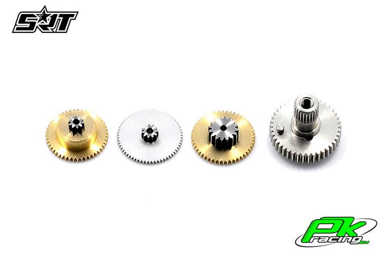 SRT - Servo Gear Set - DL5015 - Copper / Alu