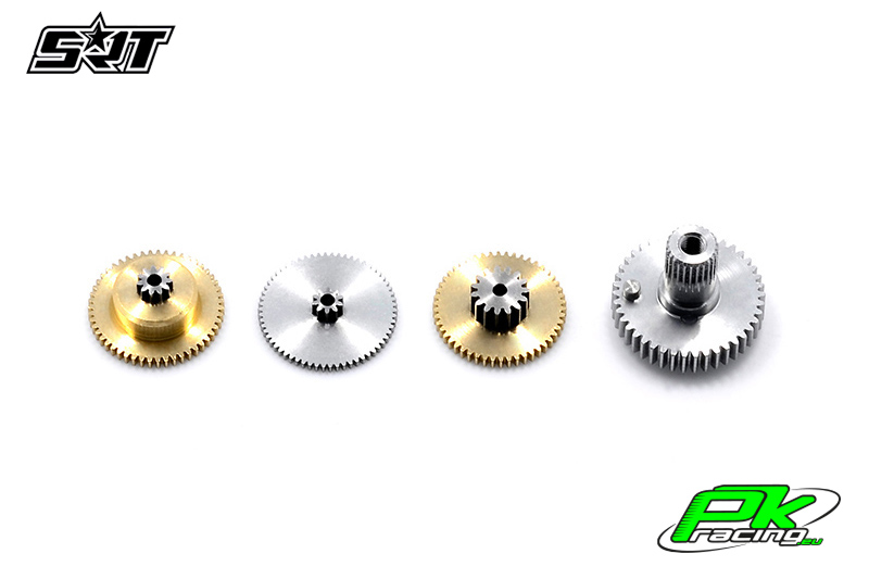 SRT - Servo Gear Set - DL5020 - Copper / Alu