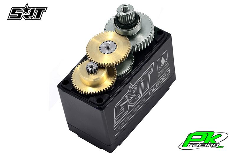 SRT - Servo DL5020 - Digital - Core Motor - LV - Copper/Alu Gears - 20kg/0.16sec@6.0V - Waterproof  - Plastic/Alloy Case