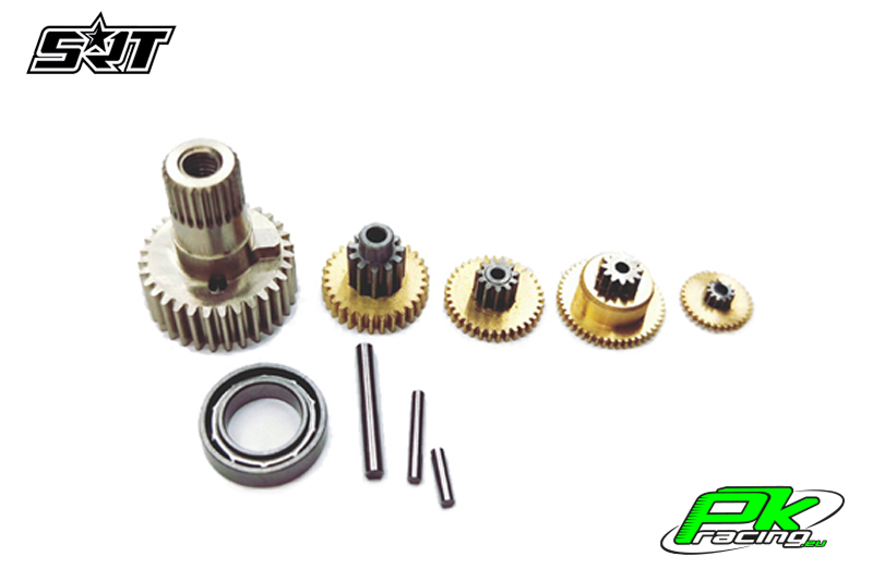 SRT - Servo Gear Set - M12 - Copper / Alu