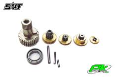 SRT - Servo Gear Set - M12 - Copper / Alu