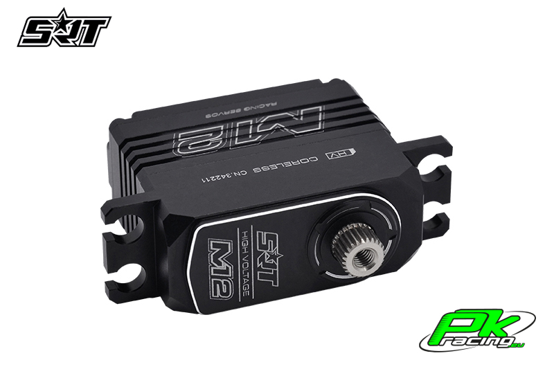 SRT - Servo M12 - Digital - Midi - Coreless - HV - Copper/Alu Gears - 11kg/0.065sec@8.4V - Full Alloy Case