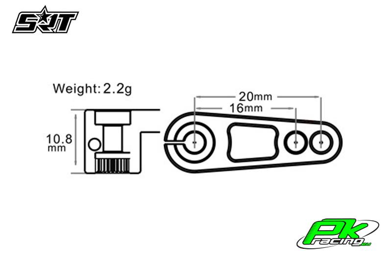 SRT - Servo Horn Set - TRX6B