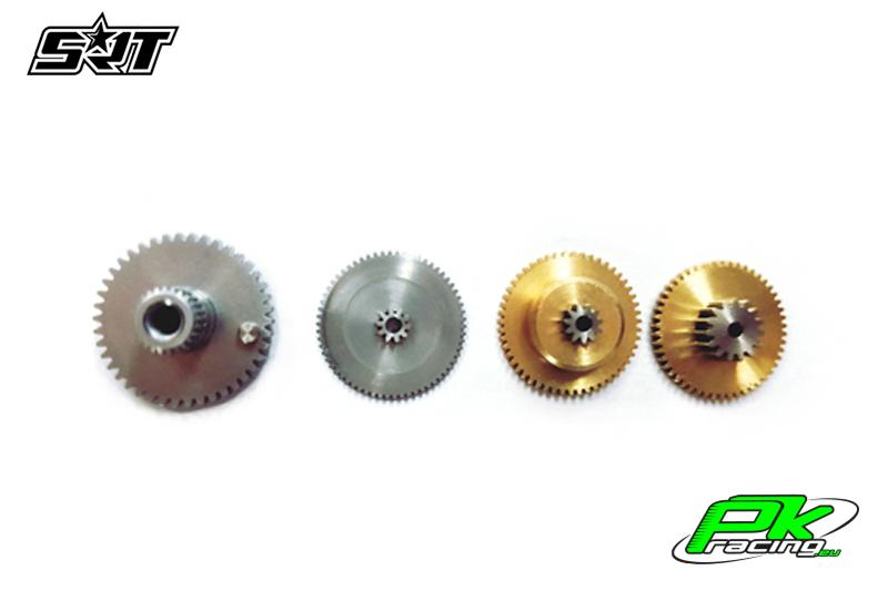 SRT - Servo Gear Set - W25 - Copper / Alu