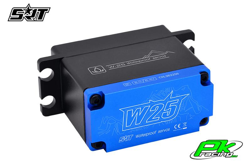 SRT - Servo W25 - Digital - Crawler Special - Core Motor - HV - Copper/Alu Gears - 25kg/0.14sec@7.4V - Waterproof  - Plastic/Alloy Case