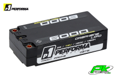Performa Racing P1 - PA9307 - Graphene HV Lipo Shorty 6000 7.6V 120C