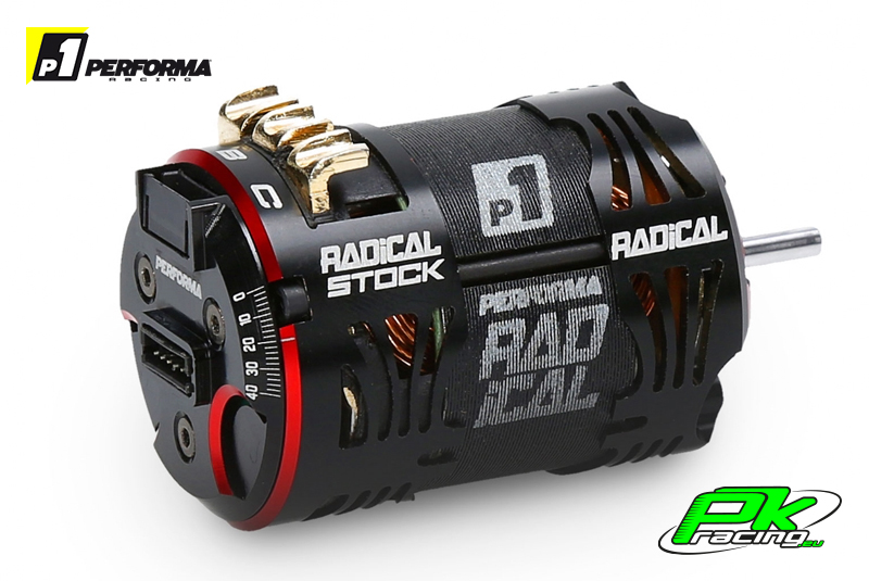 Performa Racing P1 - PA9332 - Radical 540 Stock Motor 21.5 T