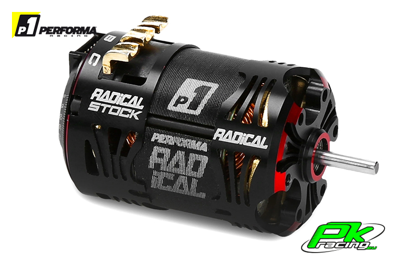 "Performa Racing P1 - PA9334 - Radical 540 Stock Motor 13.5 T   ""Qualified"""