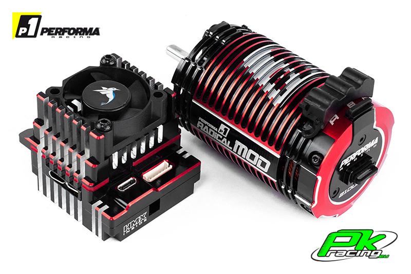 Performa Racing P1 - PA9350 - HMX 1/8 Combo 2100 KV, 4S