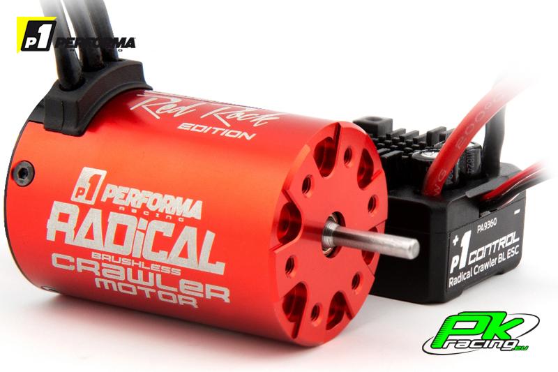 Performa Racing P1 - PA9361 - Radical Crawler BL Combo