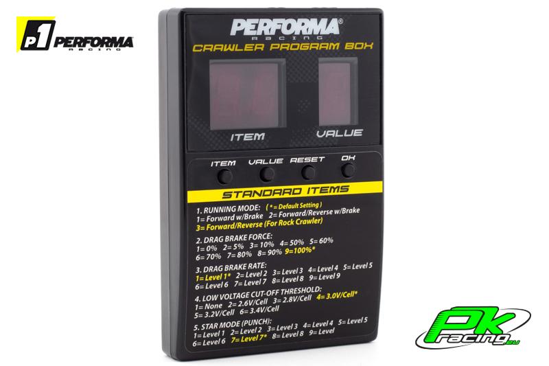 Performa Racing P1 - PA9362 - Radical Crawler LED Program Box