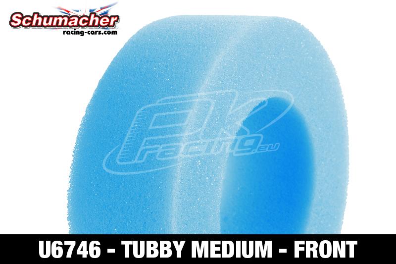 Schumacher - U6746 - Buggy 1/10 Tire Inserts - Tubby - Medium - Front - 1 Pair