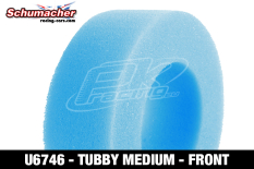 Schumacher - U6746 - Buggy 1/10 Tire Inserts - Tubby - Medium - Front - 1 Pair