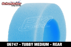 Schumacher - U6747 - Buggy 1/10 Tire Inserts - Tubby - Medium - Rear - 1 Pair
