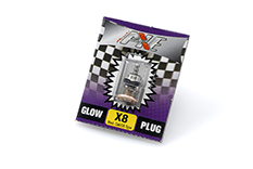 Rossi - R10058 - Glowplug - X8 - Medium - OS Type