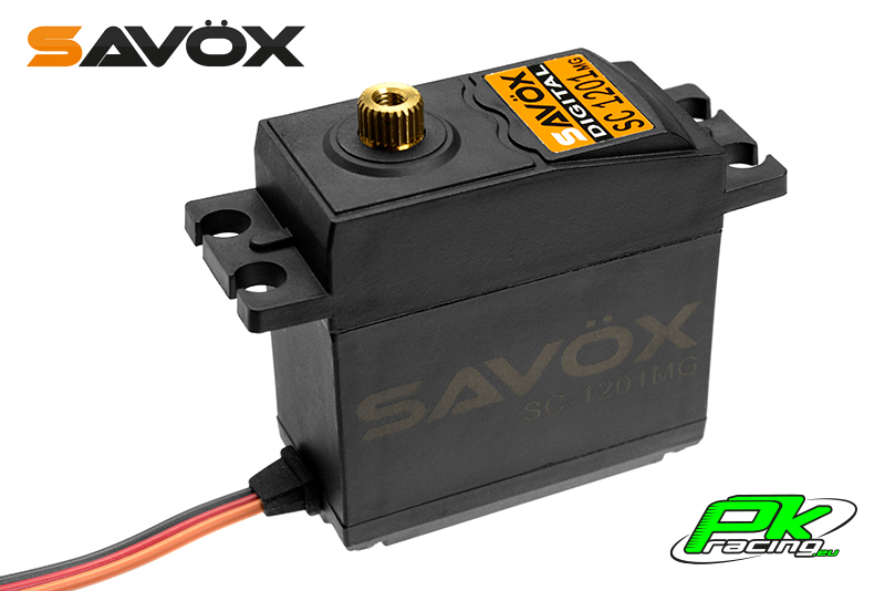 Savox - SH-1201MG - Digital Servo - Coreless Motor - Metal Gear