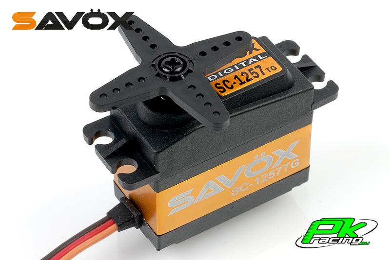 Savox - SC-1257TG - Digital Servo - Coreless Motor - Titanium Gear