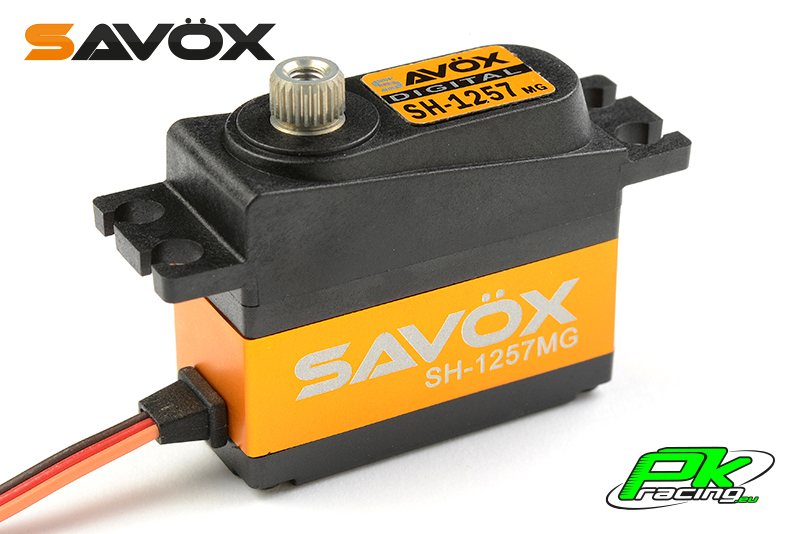 Savox - SH-1257MG - Digital Servo - Coreless Motor - Metal Gear