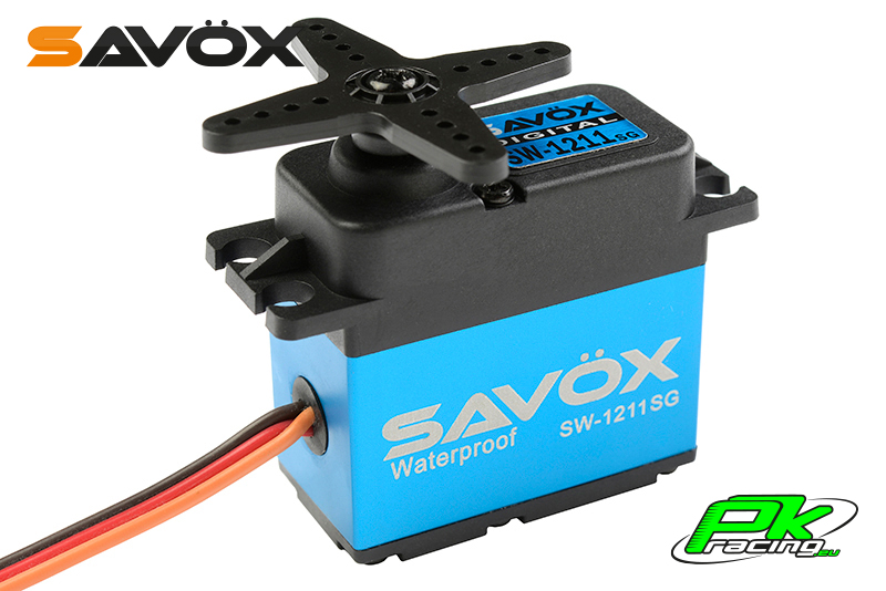 Savox - SW-1211SG - Digital Servo - Coreless Motor - Waterproof - Steel Gear