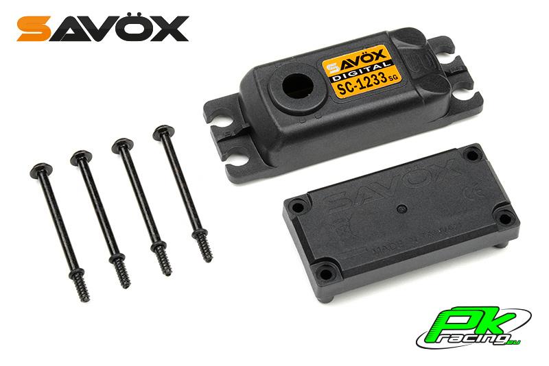Savox - C-SC-1233SG - Servo Case Set for SC-1233SG