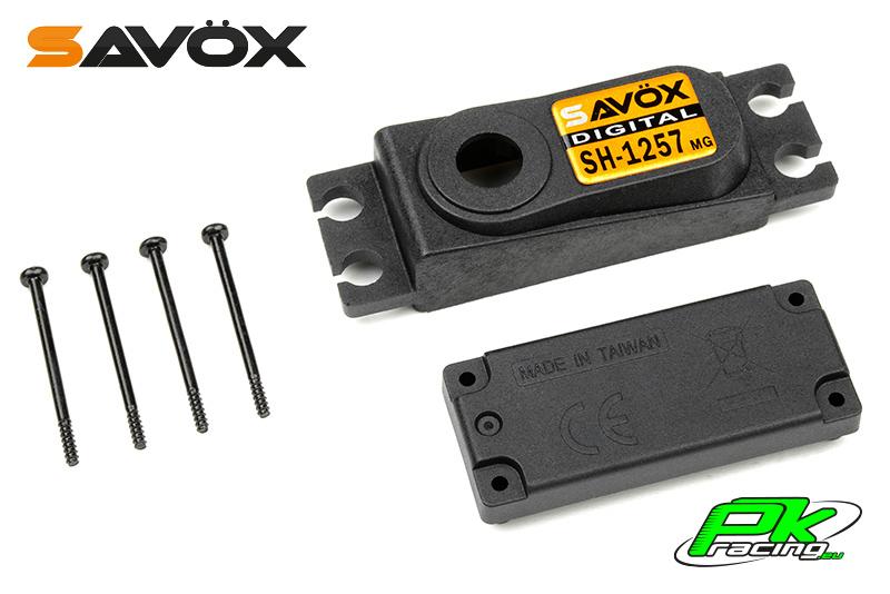 Savox - C-SH-1257MG - Servo Case Set for SH-1257MG