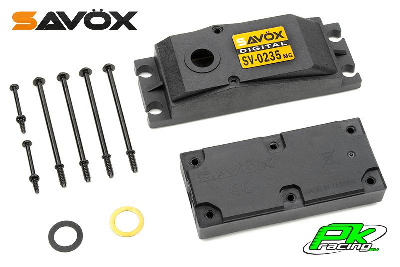 Savox - C-SV-0235MG - Servo Case Set for SV-0235MG