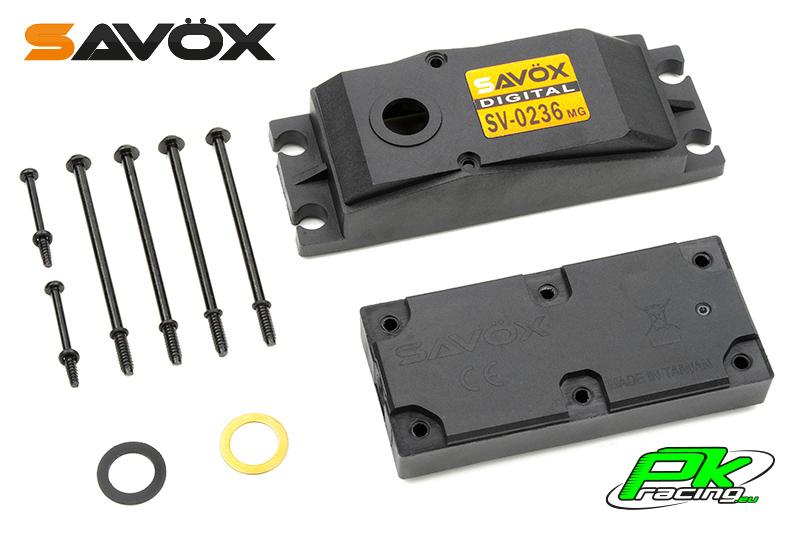Savox - C-SV-0236MG - Servo Case Set for SV-0236MG