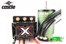 Castle - CC-010-0145-03 - Mamba Monster X - Combo - 1-8 Extreme Car Controller with 1515-2200 Sensored Motor
