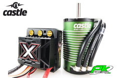 Castle - CC-010-0145-04 - Mamba Monster X - Combo - 1-8 Extreme Car Controller with 1512-2650 Sensored Motor