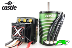 Castle - CC-010-0145-05 - Mamba Monster X - Combo - 1-8 Extreme Car Controller with 1512-1800 Sensored Motor