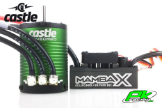Castle - CC-010-0155-04 - Mamba X - Combo - 1-10 Extreme Car Controller with 1406-7700 Sensored Motor