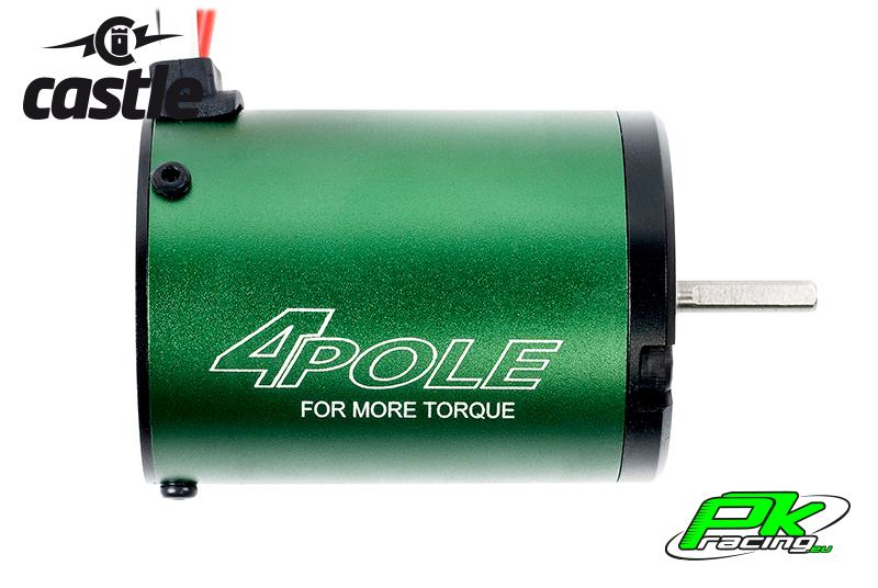 Castle - CC-060-0002-00 - Brushless Motor 1406 - 6900KV - 4-Pole - Sensorless