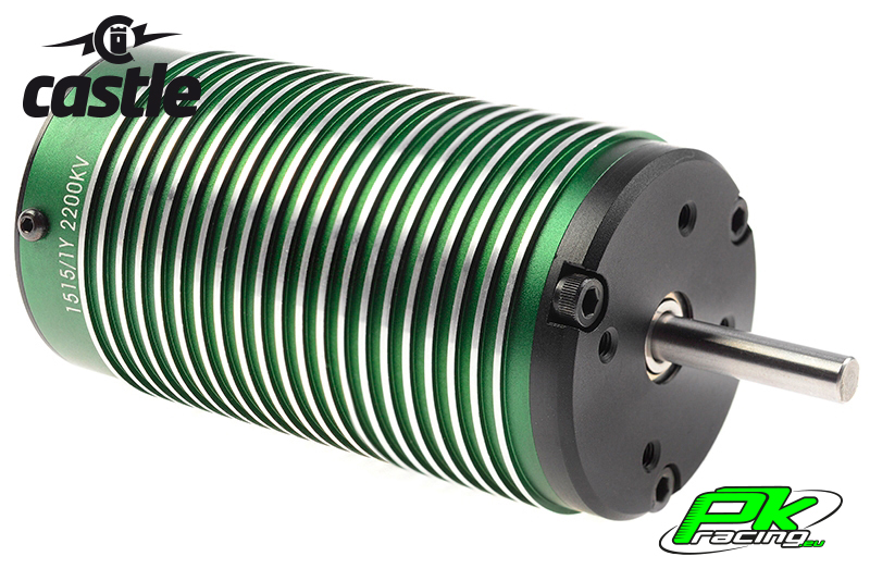 Castle - CC-060-0004-00 - Brushless Motor 1515 - 2200KV - 4-Pole - Sensorless