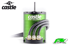Castle - CC-060-0058-00 - Brushless Motor 1406 - 6900KV - 4-Pole - Sensored