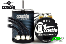Castle - CC-060-0068-00 - Brushless Motor 1406-1900KV - 4-Pole - Sensored