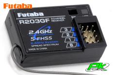 Futaba - R203GF - Receiver - 2.4GHz - 3-Channel - S-FHSS